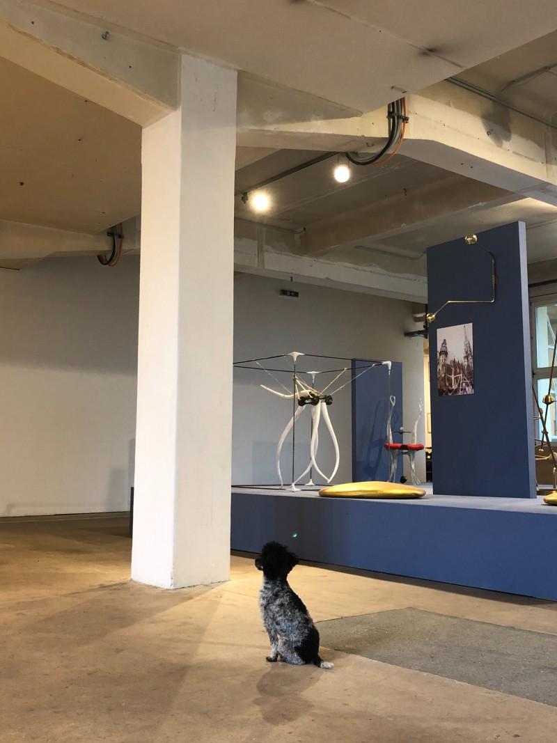 Intervention der Studierenden in die Ausstellung im Künstlerhaus 1050 im Herbst 2019.