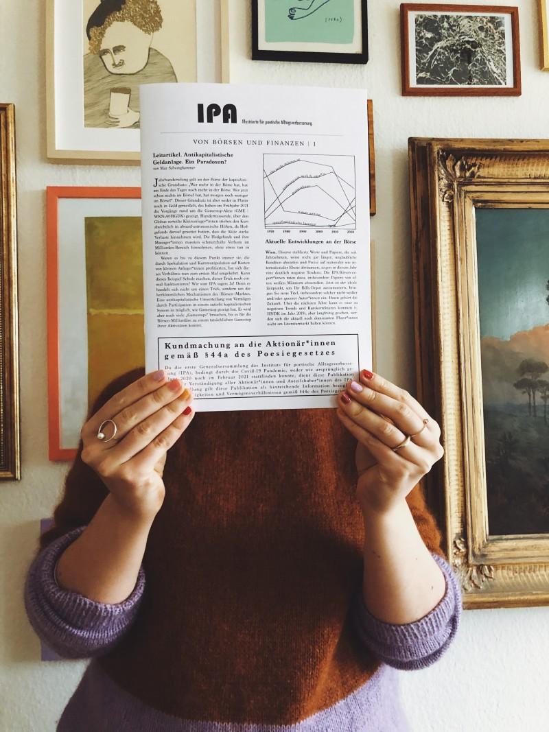 Illustrierte für poetische Alltagsverbesserung